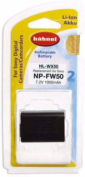 Hahnel HL-XW50 - akumulator, zamiennik do Sony NP-FW50, poj. 1000mAh Hahnel HL-XW50