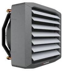 Nagrzewnica wodna LEO S1 zestaw ( 0,7 - 12,8 )kW
