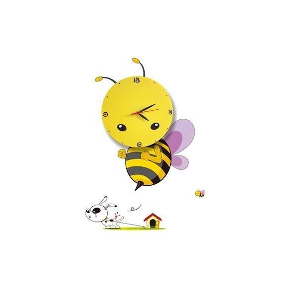 KINKIET DZIECIĘCY BEE LED CLOCK 0,6W LED ML145