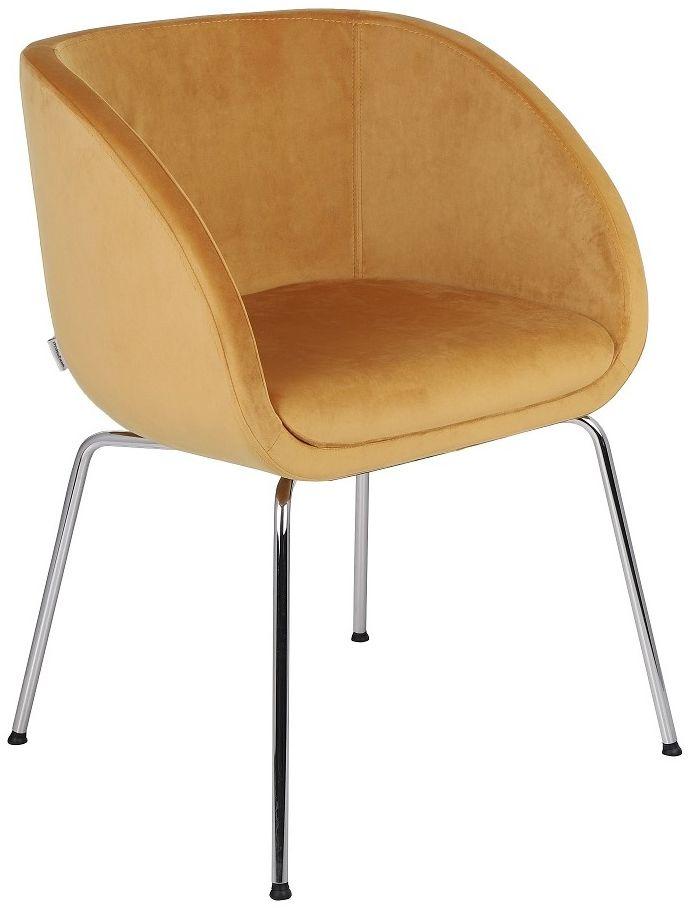 Krzesło Jula 4L na metalowych nóżkach, do jadalni, do biura