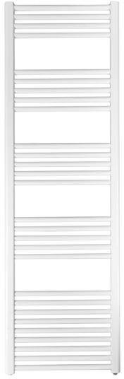Grzejnik łazienkowy york - wykończenie proste, 500x1600, biały/ral