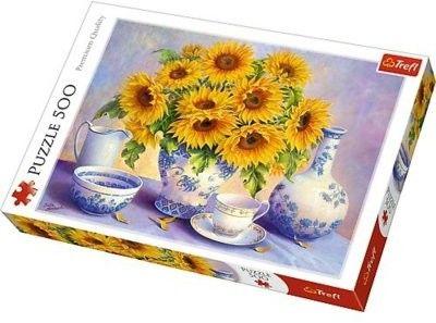 Puzzle TREFL 500 - Słoneczniki, Sunflowers