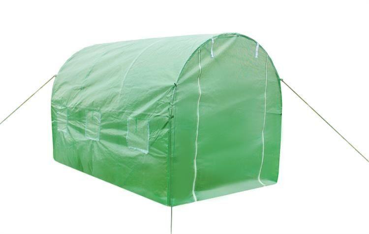 Tunel foliowy 2 m x 2 m /zielony/