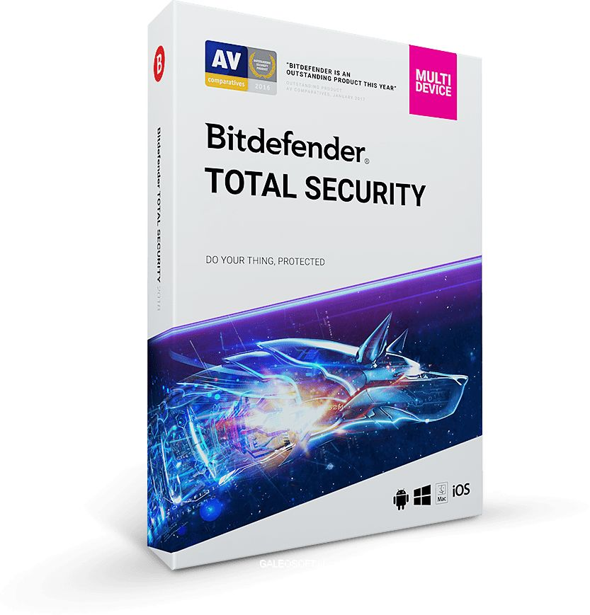 Bitdefender Total Security 2020 Multi-Device 10PC