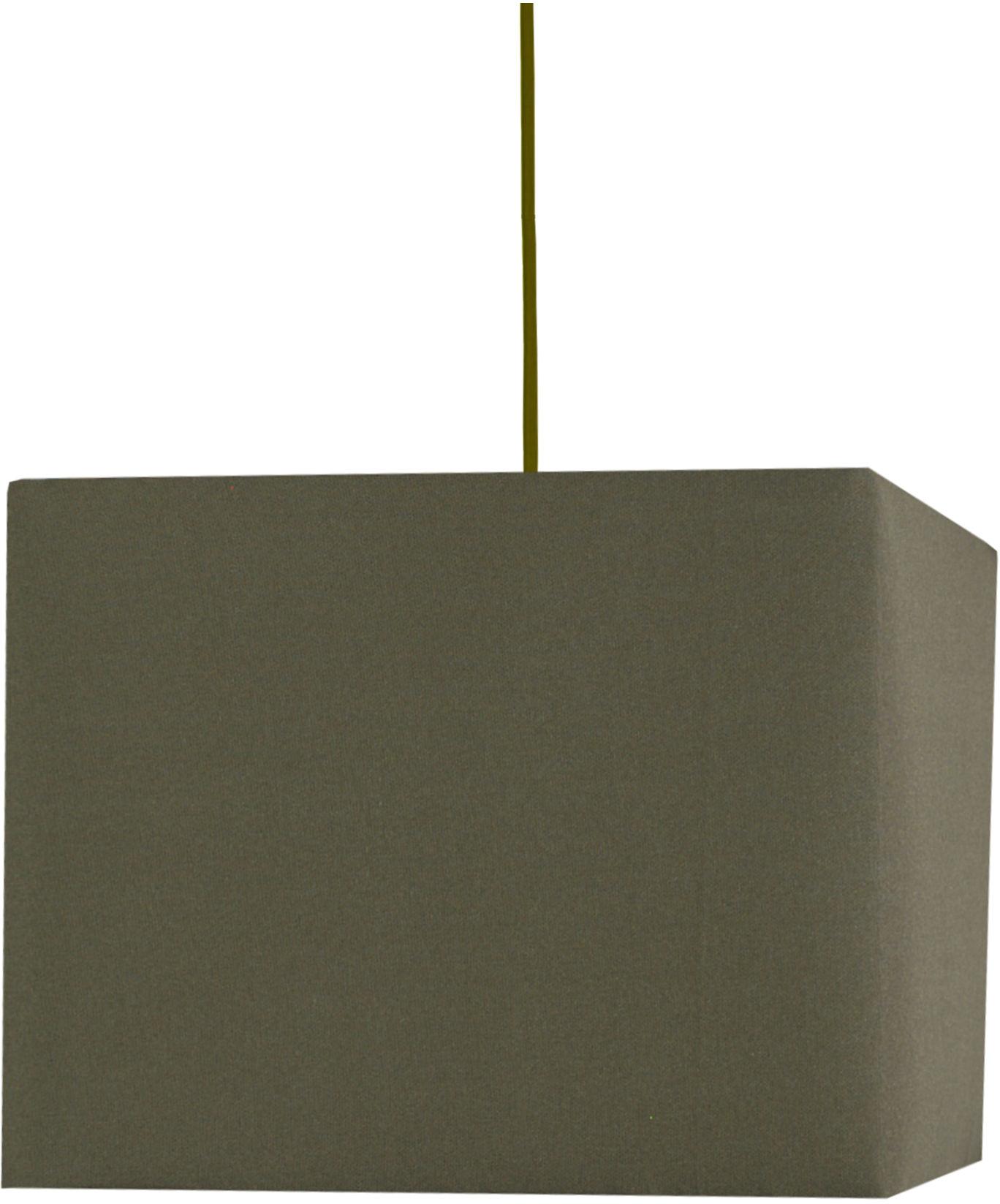 Candellux BASIC 31-06110 lampa wisząca brązowy kwadratowy abażur 1X60W E27 30 cm