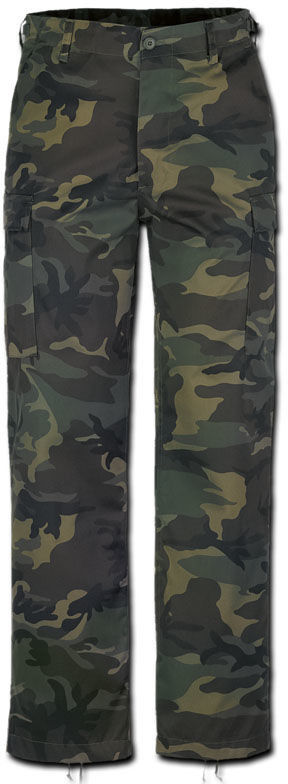Brandit Spodnie Bojówki BDU US Ranger Woodland