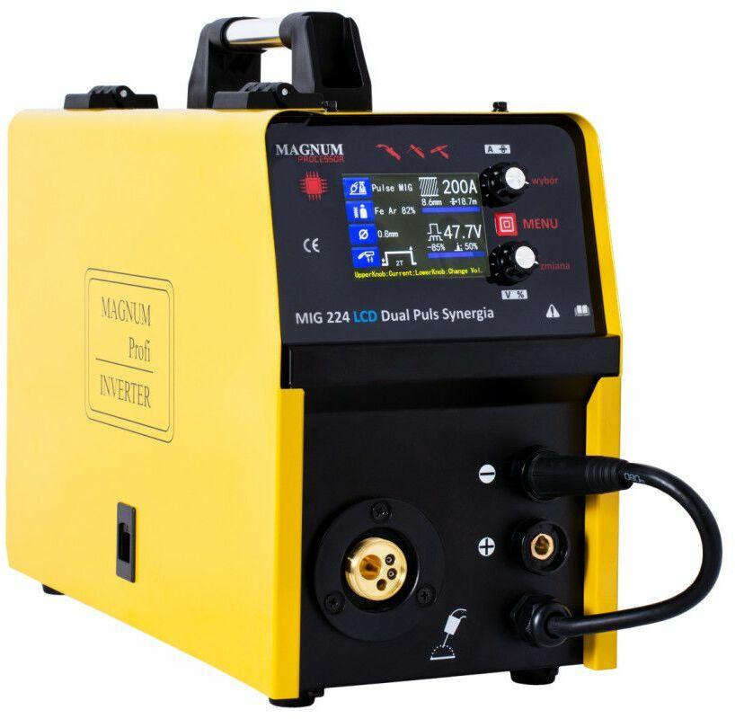Półautomat spawalniczy Magnum MIG 224 Dual Puls LCD