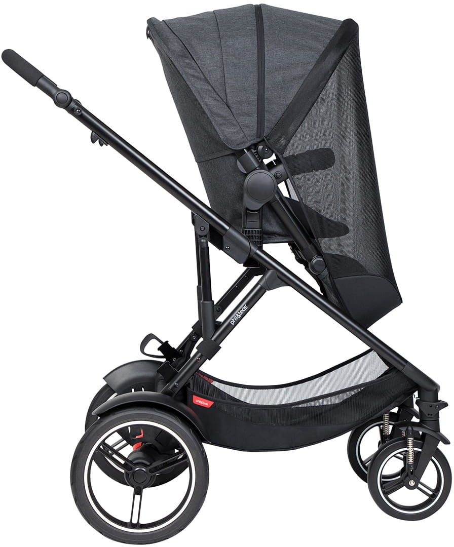 phil&teds 2019+ moskitiera/osłona UV na wózek Voyager lub dod. siedzisko DK (2019+)