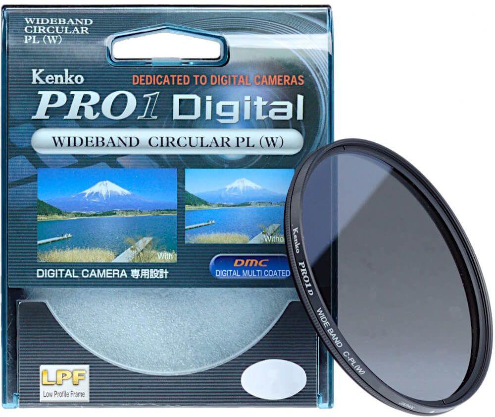 Filtr polaryzacyjny Kenko PRO1 Digital 58mm
