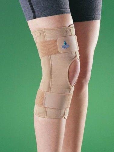 Stabilizator kolana z zawiasami, z przewiewnej tkaniny 2037