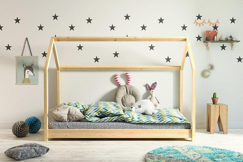 Łóżko domek BELLA 80x160 sosna