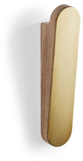 Skagerak REFLECT Wieszak Ścienny Pojedynczy - Złoty