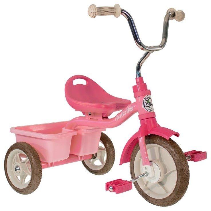 Rowerek trójkołowy Transporter Rose Garden Italtrike