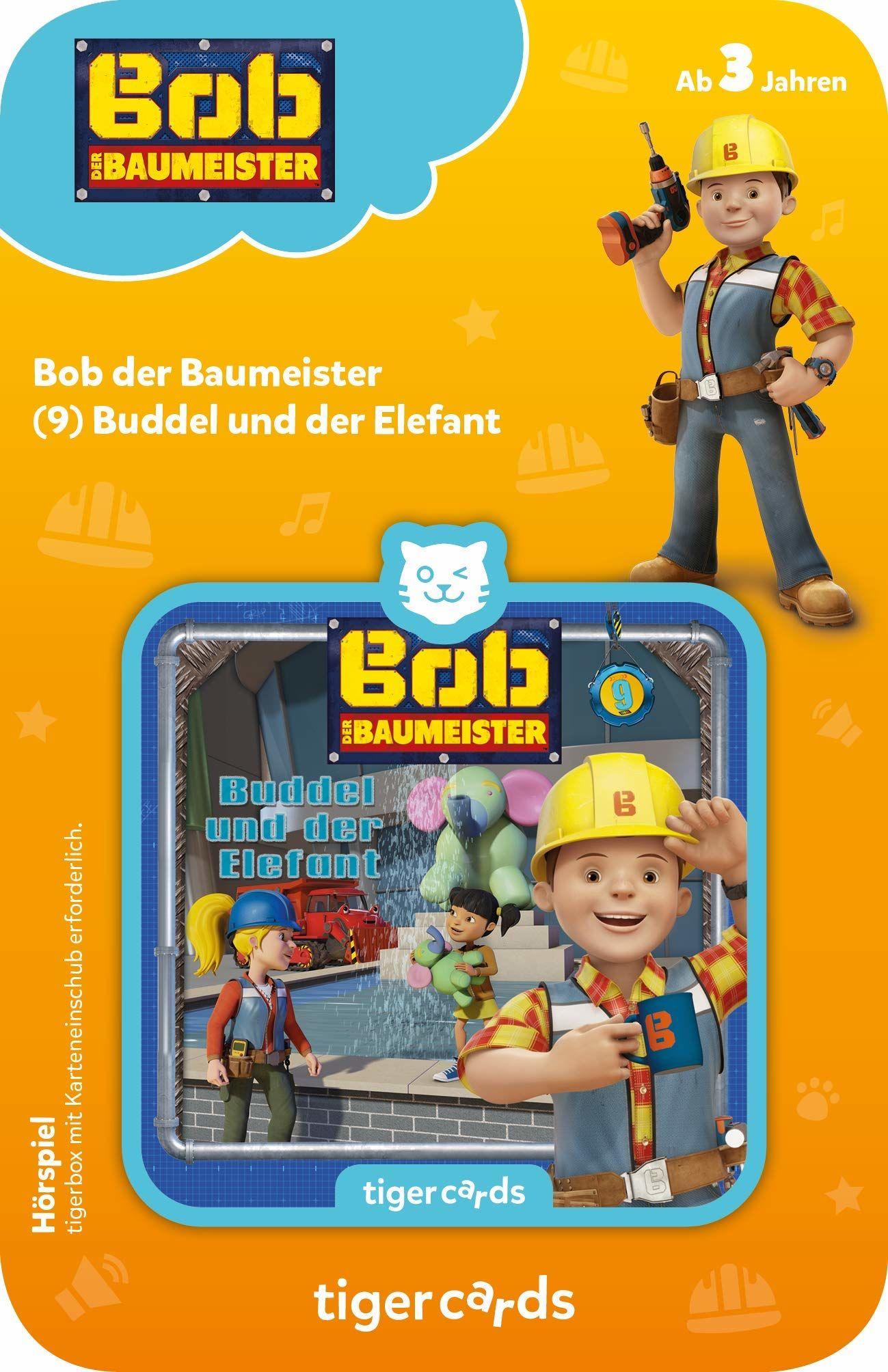 Tigerbox 4155 tigercard-Bob Roki Buddy słonia 9: Buddel
