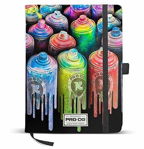 PRODG PRODG Diary 13 x 21 cm Colors uchwyt na torebkę, 21 cm, wielokolorowy (Multicolored)