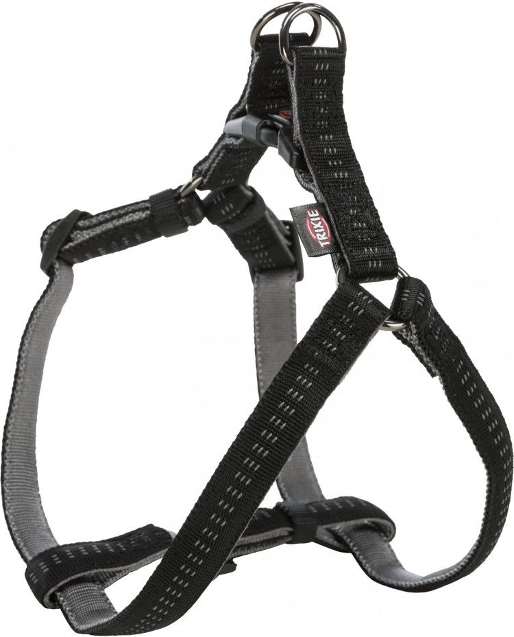 Softline Elegance szelki, dla psa, czarne/grafitowe, XS S: 30 40 cm/10 mm