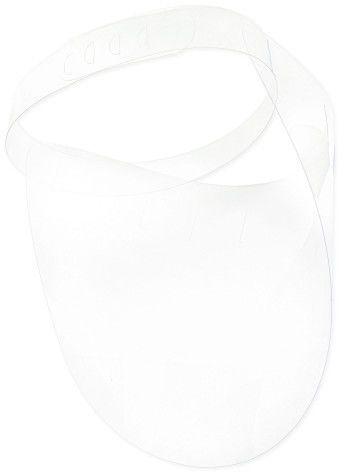 PROMOCJA -50% : Prosta osłona twarzy 0,3mm typu przyłbica