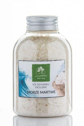 Sól do kąpieli z Morza martwego - butelka 600g