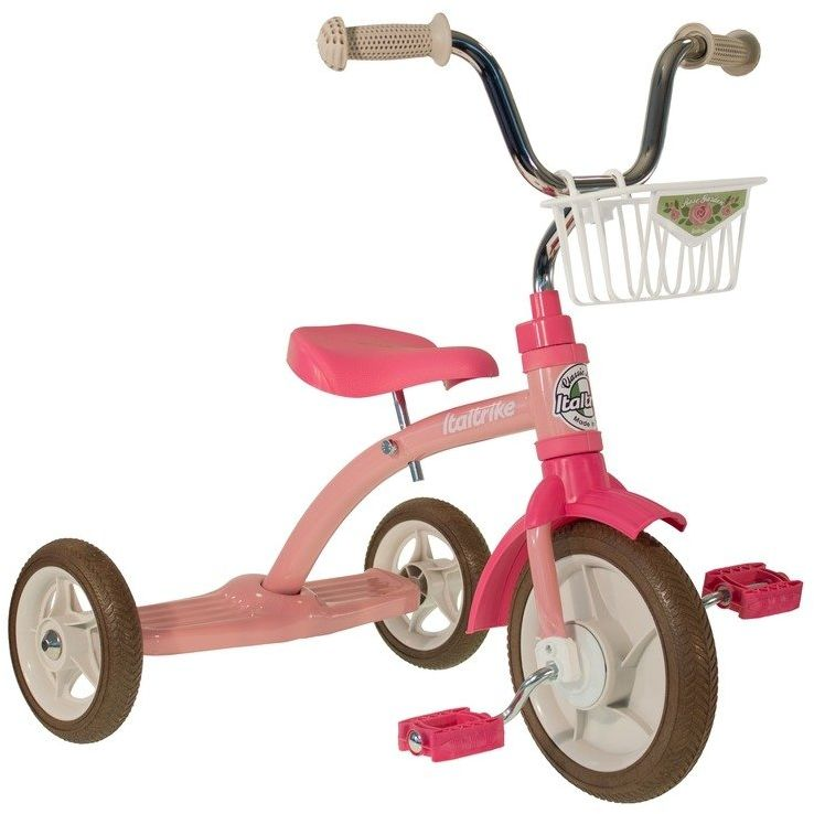Rowerek trójkołowy Super Lucy Rose Garden Italtrike