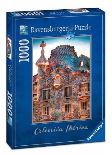 Puzzle Ravensburger 1000 - Casa Batllo Barcelona, Hiszpania