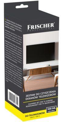 Zestaw czyszczący FRISCHER do ekranów TV FR02587 500 ml