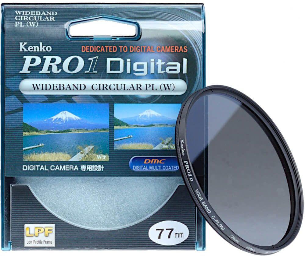 Filtr polaryzacyjny Kenko PRO1 Digital 77mm
