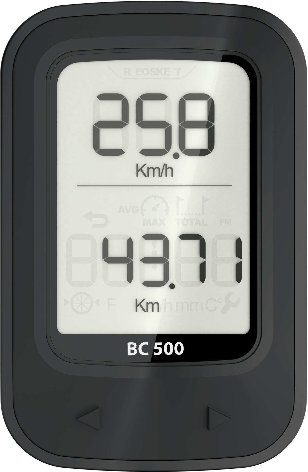 Licznik rowerowy 500 bezprzewodowy