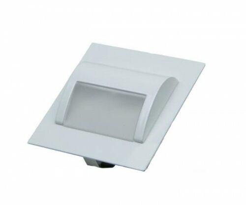 Oprawa schodowa LED 1,5W 12V biała ciepła - obudowa biała