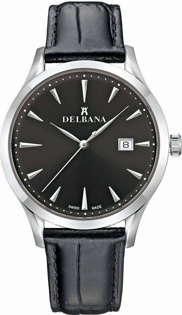 Zegarek Delbana 41601.694.6.031 - CENA DO NEGOCJACJI - DOSTAWA DHL GRATIS, KUPUJ BEZ RYZYKA - 100 dni na zwrot, możliwość wygrawerowania dowolnego tekstu.