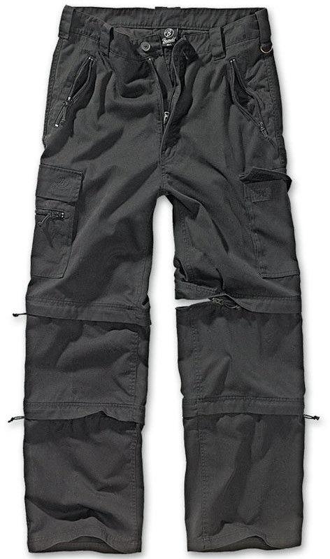Brandit Spodnie Trekkingowe 3w1 Savannah Czarne