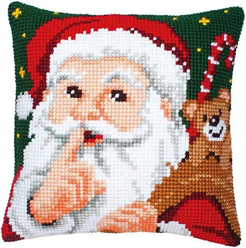 Vervaco Święty Mikołaj haft krzyżykowy, wielokolorowa