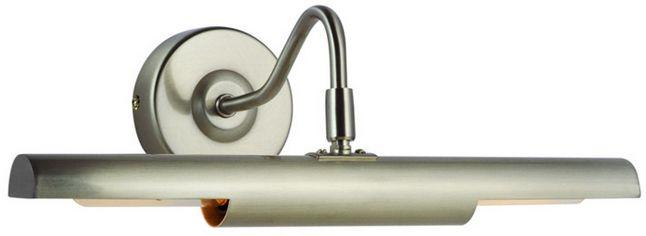 Globo kinkiet lampa ścienna Picture 4403 nikiel mat regulowany przełącznik 36,5cm