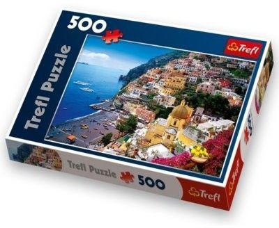 Puzzle TREFL 500 - Positano, Wybrzeże Amalfickie, Włochy, Positano, Italy