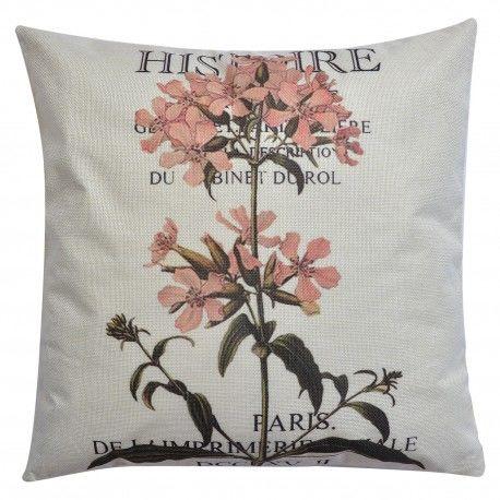 Poduszka w Stylu Prowansalskim z Kwiatami A Clayre & Eef