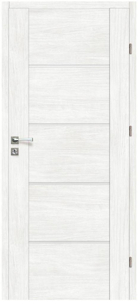 Skrzydło drzwiowe pokojowe MALIBU Bianco 80 Prawe ARTENS