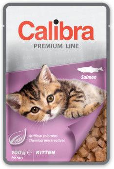 CALIBRA CAT NEW PREMIUM KITTEN SALMON 100 G