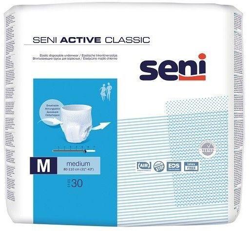 Seni Active Classic Majtki chłonne Medium 30szt