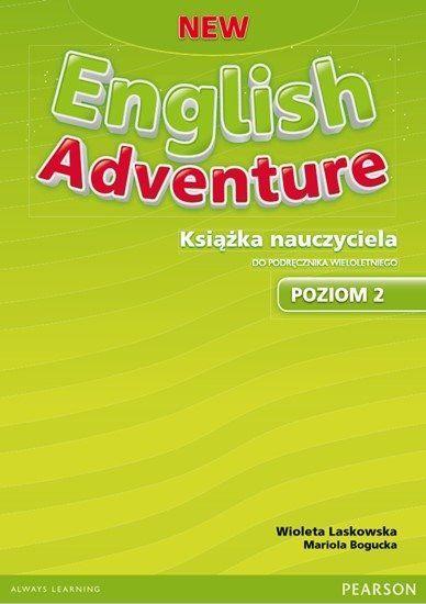 New English Adventure PL 2 Teacher''s Book with Teacher''s eText (do wersji wieloletniej)