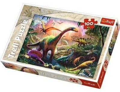 Puzzle Castor 100 - Świat Dinozaurów, World of Dinosaurs
