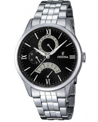 Zegarek Festina F16822-2 Retro - CENA DO NEGOCJACJI - DOSTAWA DHL GRATIS, KUPUJ BEZ RYZYKA - 100 dni na zwrot, możliwość wygrawerowania dowolnego tekstu.