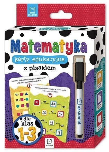 Matematyka. Karty edukacyjne z pisakiem dla klasy 1-3 - Opracowanie zbiorowe