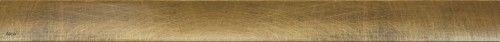 Ruszt do odwodnienia liniowego 744x56,5mm, mosiądz antyczny,DESIGN-ANTIC