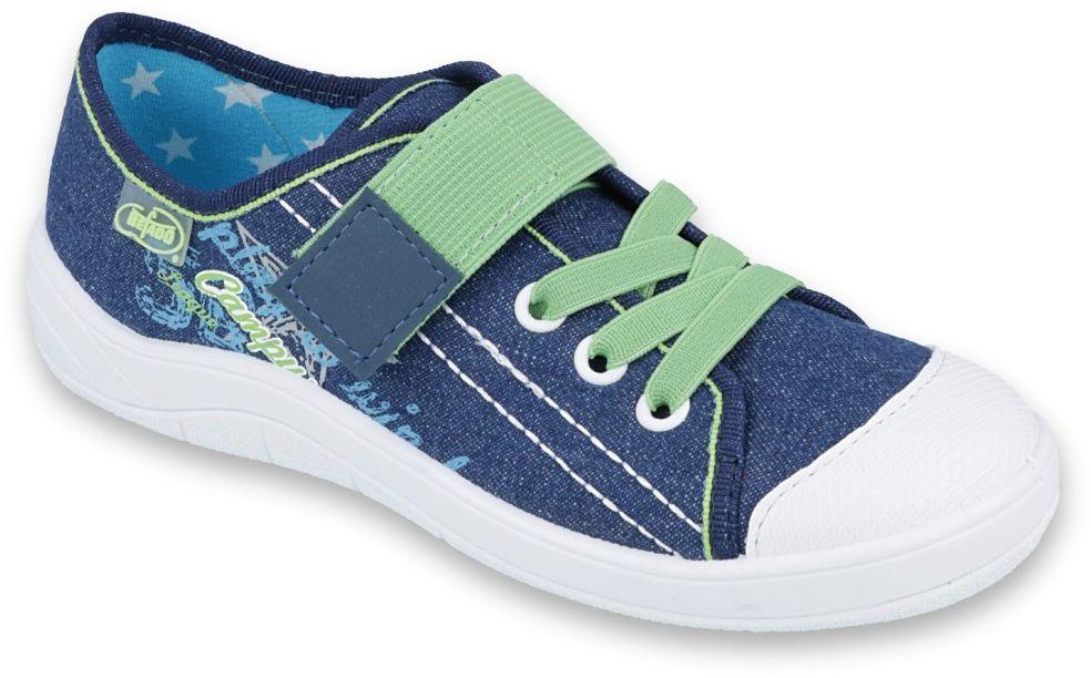 BEFADO 251Y131 jeans zielony