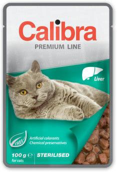 CALIBRA CAT NEW PREMIUM STERILISED LIVER 100 G