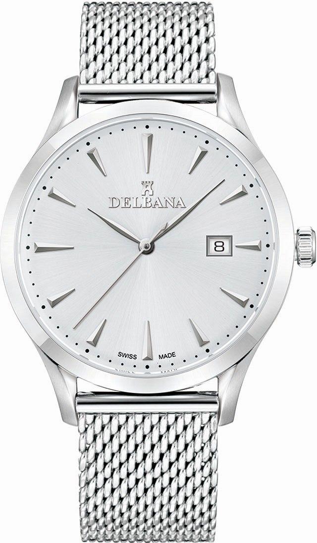 Zegarek Delbana 41801.694.6.061 - CENA DO NEGOCJACJI - DOSTAWA DHL GRATIS, KUPUJ BEZ RYZYKA - 100 dni na zwrot, możliwość wygrawerowania dowolnego tekstu.