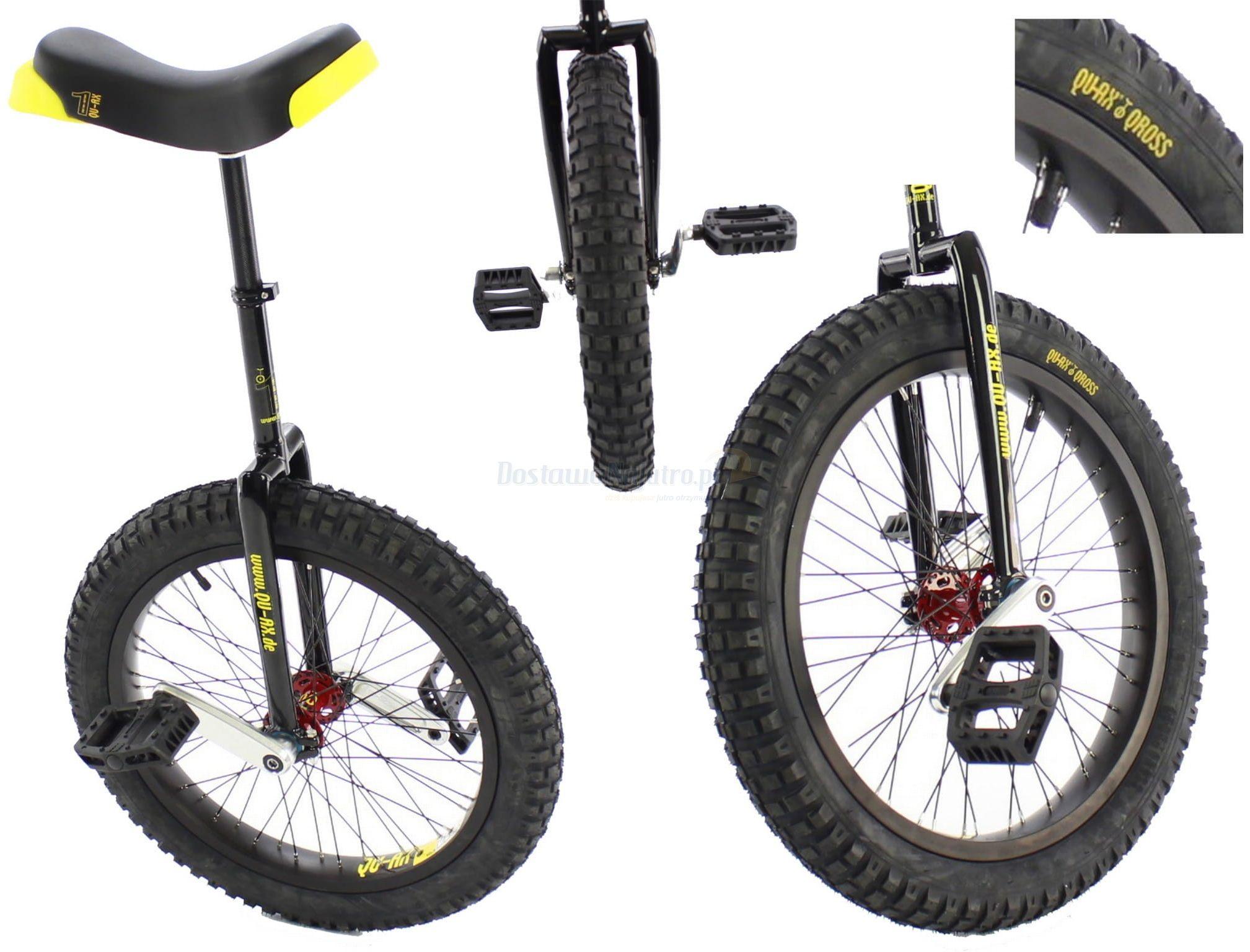 "Monocykl 20"" QU-AX Muni Starter 20x2,5"" Cross Trial"
