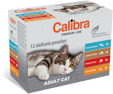 CALIBRA NEW PREMIUM MULTIPACK ADULT CAT 12 x 100 g