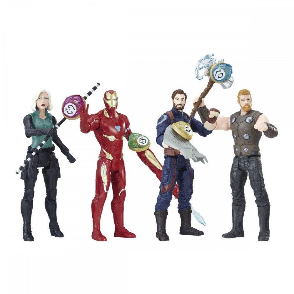 Marvel Avengers E0605EU4 figurka z klejnotem i akcesoriami, różne modele