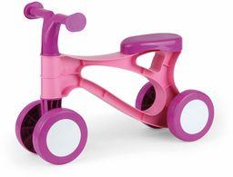 Lena My First Scooter hulajnoga biegowa, rowerek biegowy w kolorze różowym i różowym, hulajnoga ze stalową osią, rower do nauki chodzenia dla dzieci w wieku od 18 miesięcy, 7166