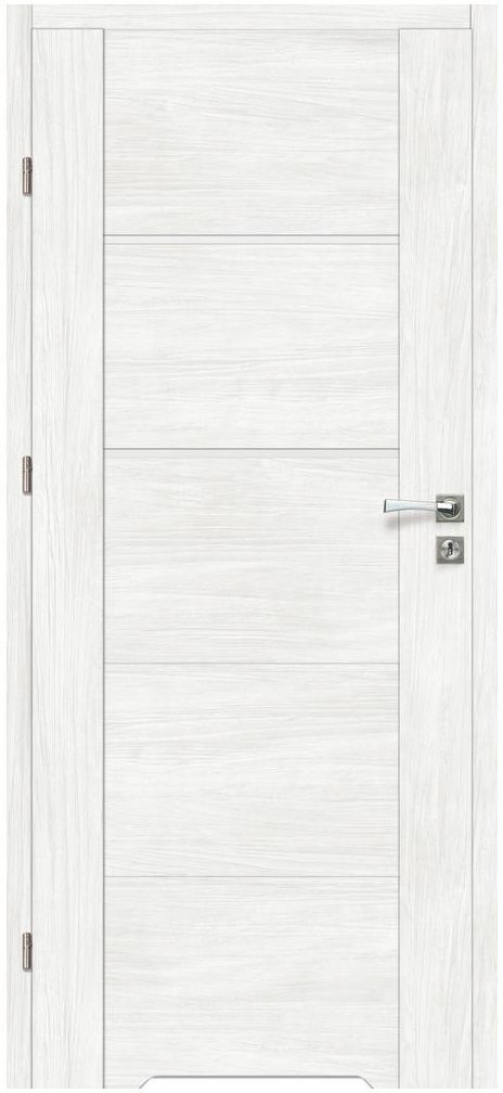 Skrzydło drzwiowe z podcięciem wentylacyjnym MALIBU Bianco 70 Lewe ARTENS